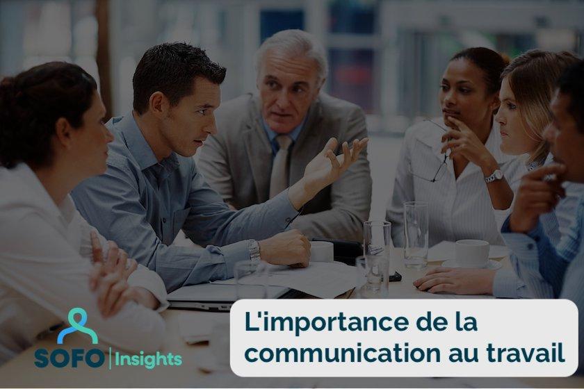 la communication au travail